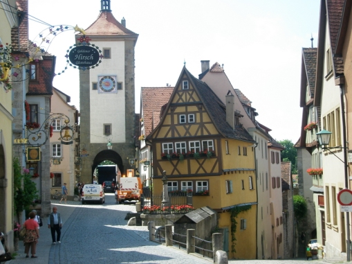 Leaving Germany and going to Austria. Bavarian Alps 022