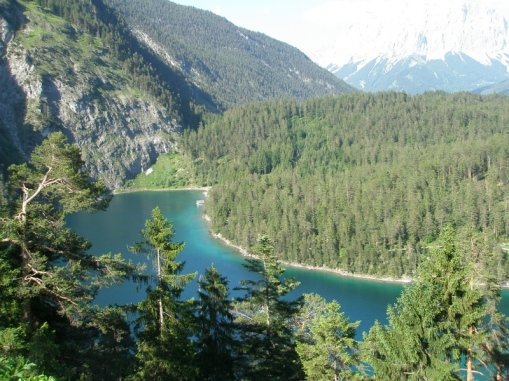 Leaving Germany and going to Austria. Bavarian Alps 086