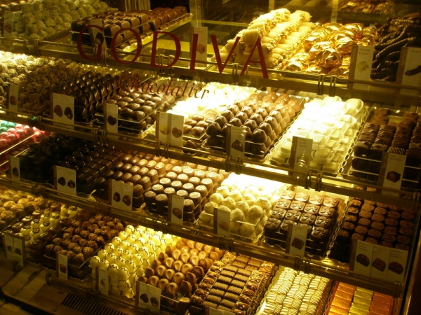 Chocolate at Harrods