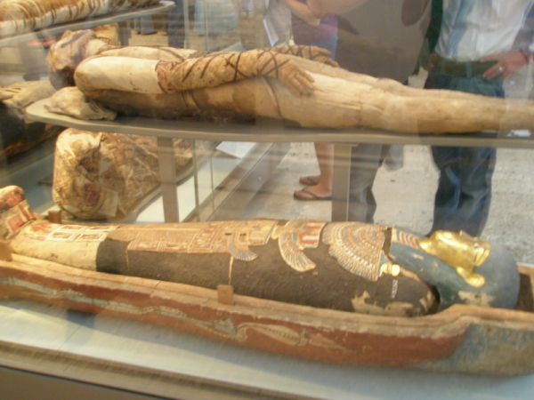 Mummies in the British Museum