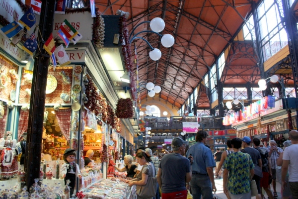 Inside the covered market