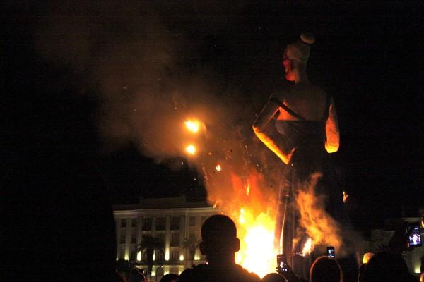 Starting to burn Miss EU