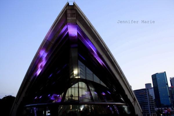 Opera House at night
