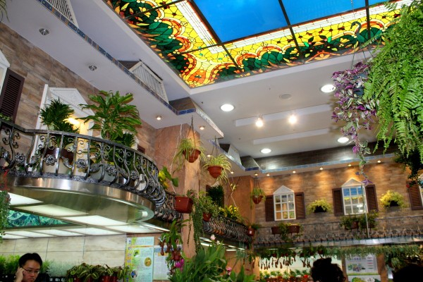 One of the pretty flower shops