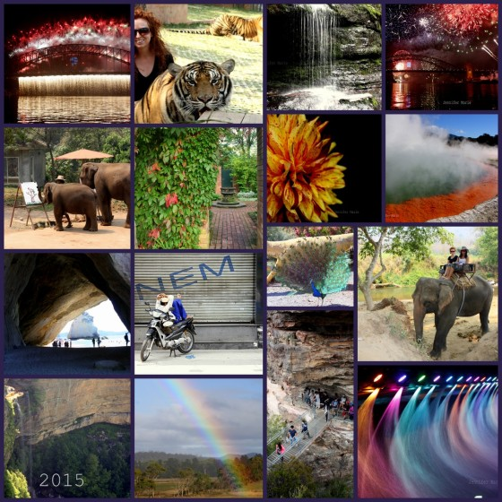 My bday in Chiangmai elephant ride and tiger etc