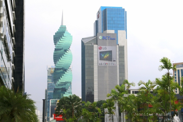Panama City's awesome Revolution Tower